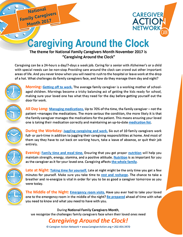 Family Caregivers Client Newsletter