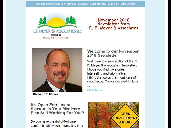 November 2018 Newsletter released