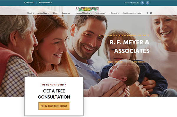 R. F. Meyer & Associates launches redesigned ElderLaw.US