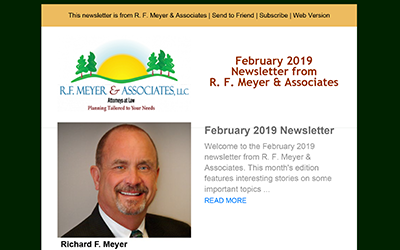 February 2019 Newsletter released