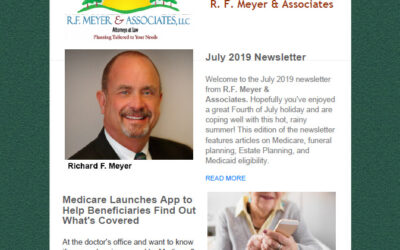 July newsletter, with all links working, now available